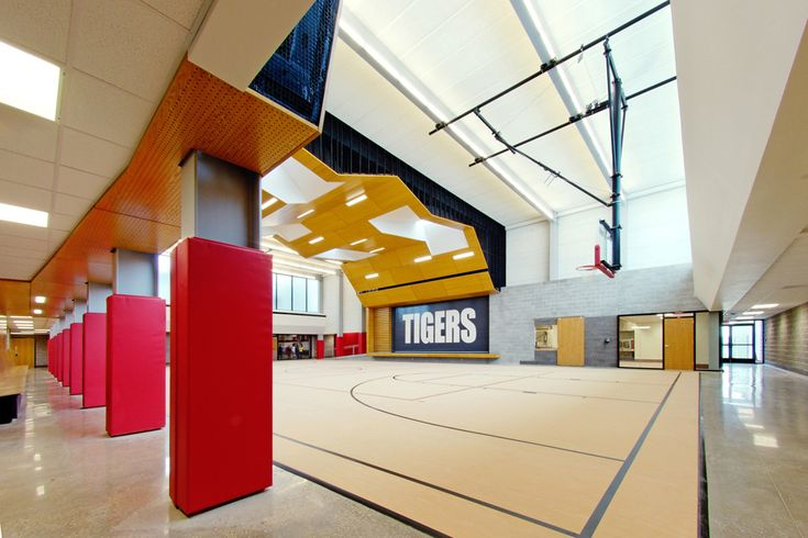 Gym, Multipurpose, Commons, Exeter Schools