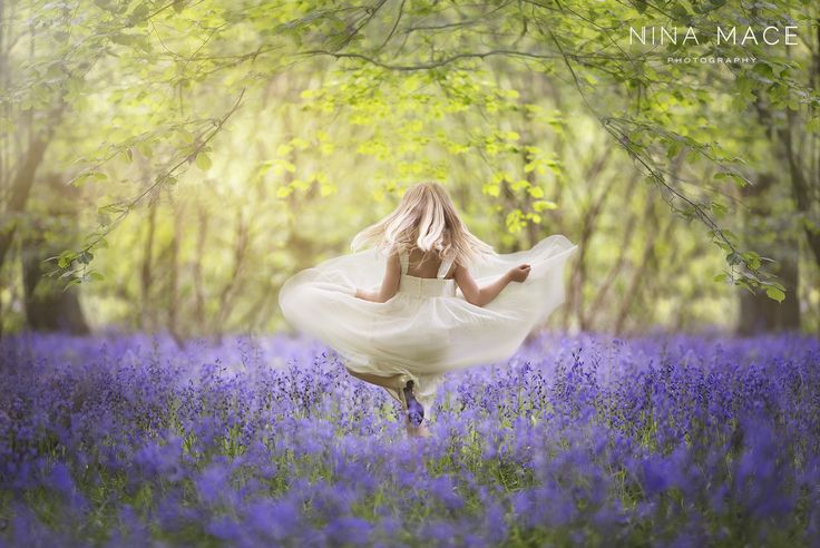 Girl in Bluebells by Nina Mace on 500px