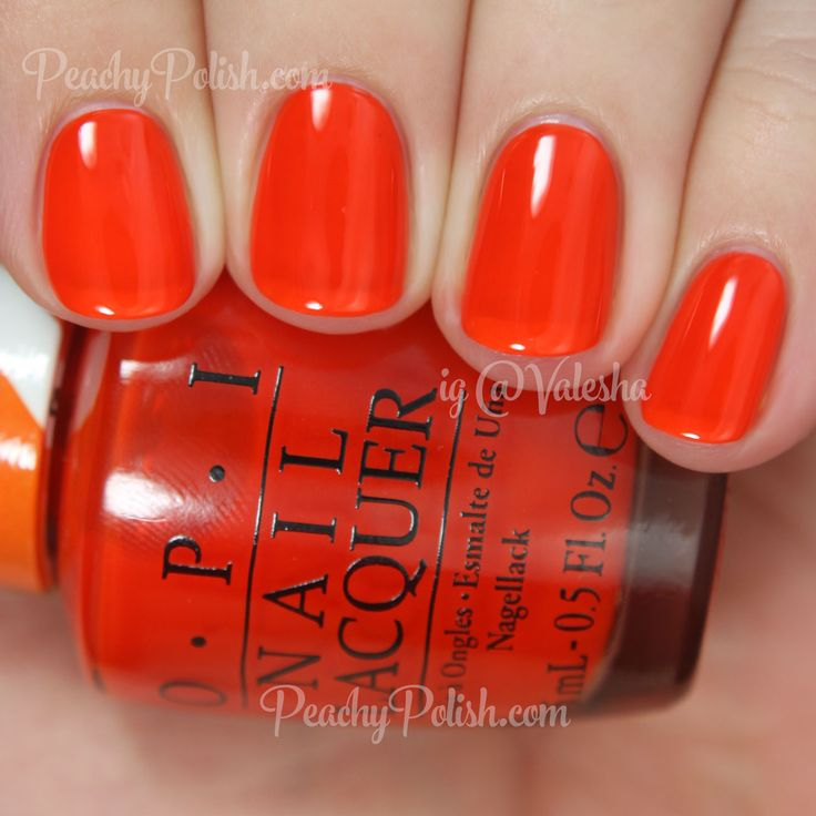 1000+ Ideas About Orange Nail Polish On Pinterest