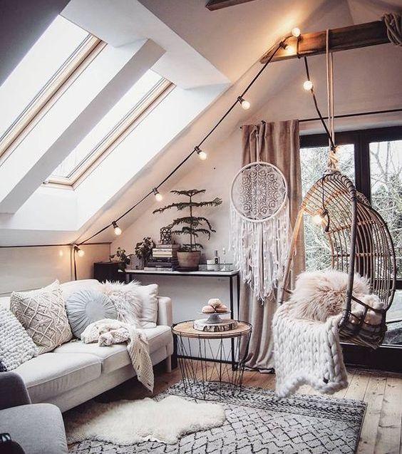 Salon cocooning les meilleures id es pour l 39 hiver d co - Deco salon chambre ...