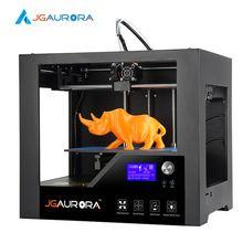 3D Print by JGAurora Z-603S Impressor 3D Printer Prusa i3 Type Screwless Metal Frame Cut by CNC Machine