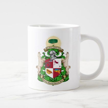 Order of St. Luis Coat of Arms Mug  $22.00  by Order_of_Saint_Luis  - custom gift idea