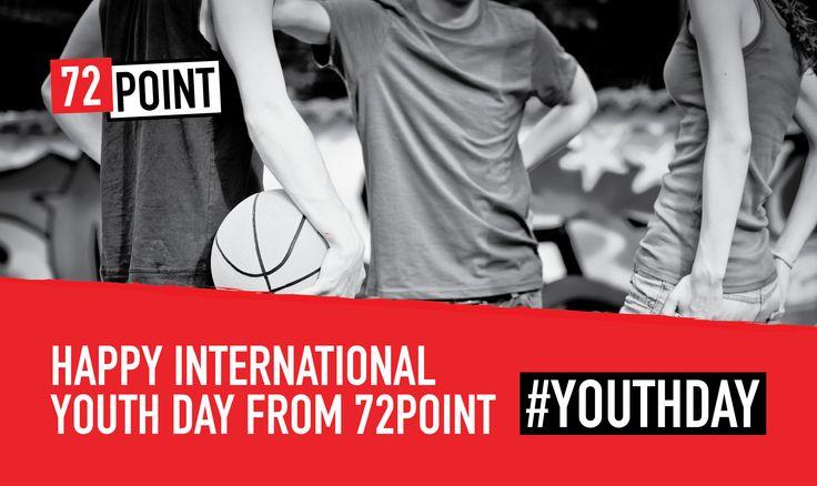 Social media graphic for #InternationalYouthDay 2015 #YouthDay2015