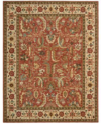 Nourison Rug, Created for Macy's, Persian Legacy PL04 Terracotta - Rugs - Macy's