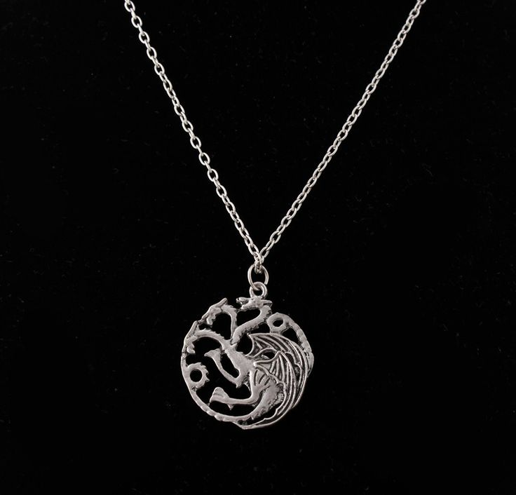 New Necklace A Song of Ice and Fire Targaryen Dragon Badge Necklace Game of Thrones Stark Canis Dirus Pendant Statement Necklace  //Price: $US $1.46 & FREE Shipping //     #gameofthrones #gameofthronestour #gameofthronesfamily  #starks #got #agot #asoiaf