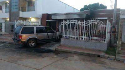 Policía Nacional y bomberos controlaron incendio en vivienda ubicada en zona residencial de Riohacha
