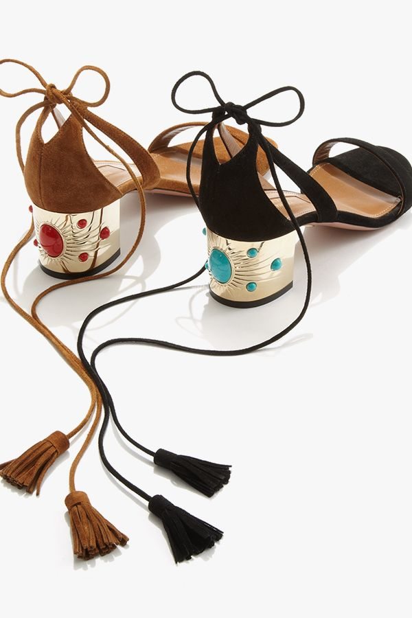 429cfc20d496 Be the queen of your own Nile with these new  Aquazzura Cleopatra sandals   10022Shoe