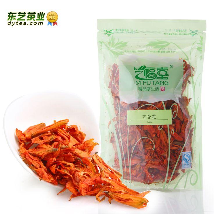 50 г Dongyi травяной чай тончайший лилии чай успокаивает нервы 50 г детокс красоты Anti - Aging травяной чай цветок сумки ясный огонь 4