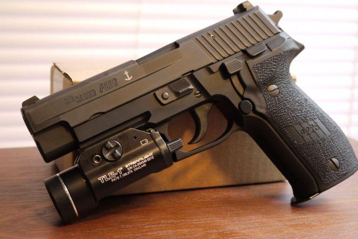 Sig Sauer P226 mk25 (9mm) USN Seals Standard Issue