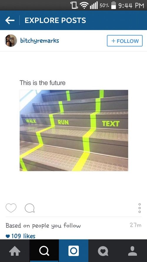 This would be amazing because some people go slow while walking and some go faster while others run into people texting.