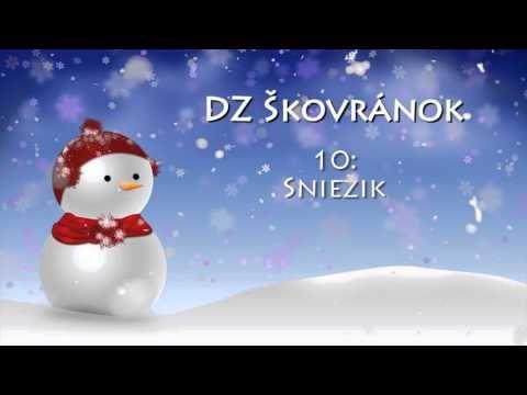 DZ Škovránok | CD: ZIMNÝ SEN 2 - SNIEŽIK - YouTube