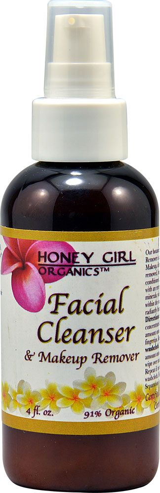 Honey Girl Organics Facial Cleanser and Makeup Remover