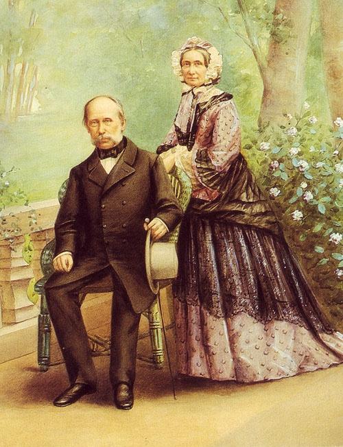 Archduke Franz Karl and Princess Sophie of Bavaria (Franz Josephs parents).