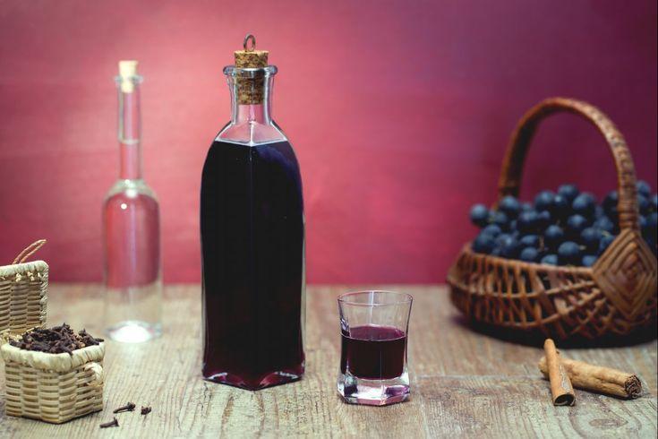 Liquore all'uva fragola © Giallo Zafferano