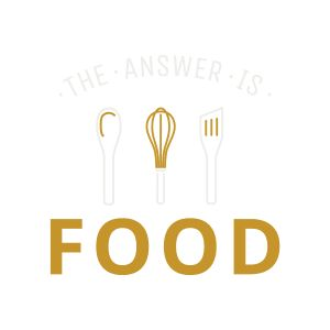 The answer is food logo