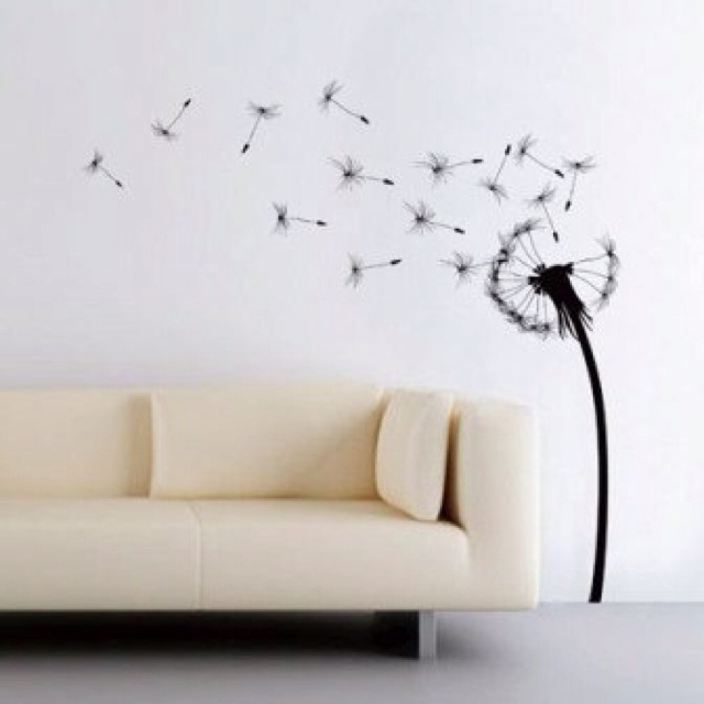 Wishing Flower Wall Decal