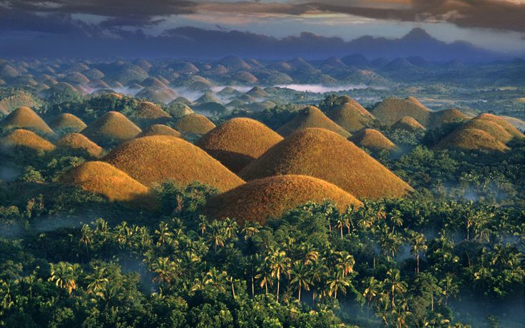 There's quite a bit of folklore around the Chocolate Hills on Bohol Island. There's no doubting that they're a sight to see. Read more here.