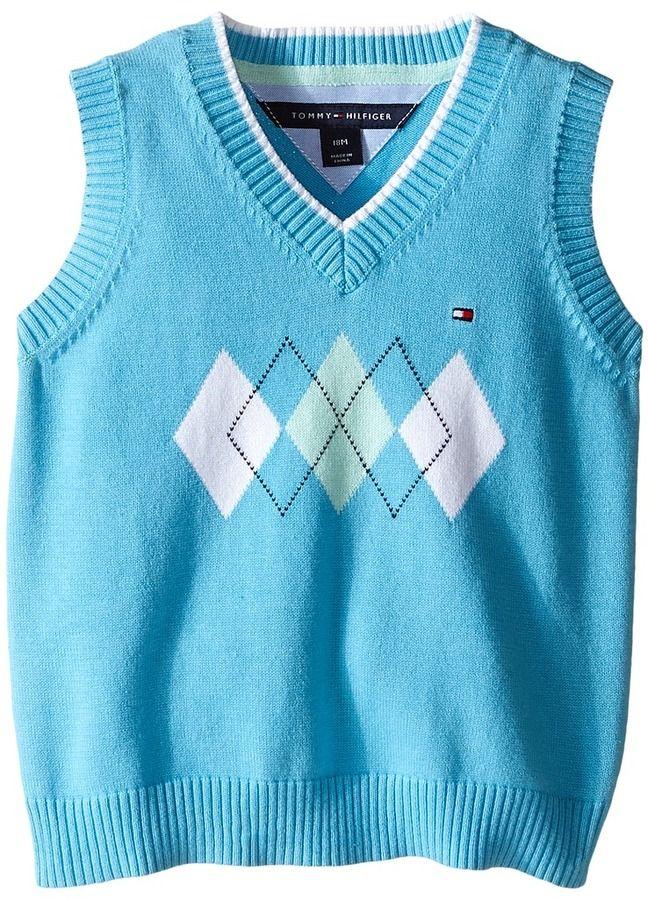 Tommy Hilfiger Kids Henry Sweater Vest (Infant)