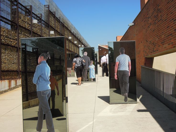 Apartheid Museum. Johannesburg South Africa.  Mashabane Rose Associates
