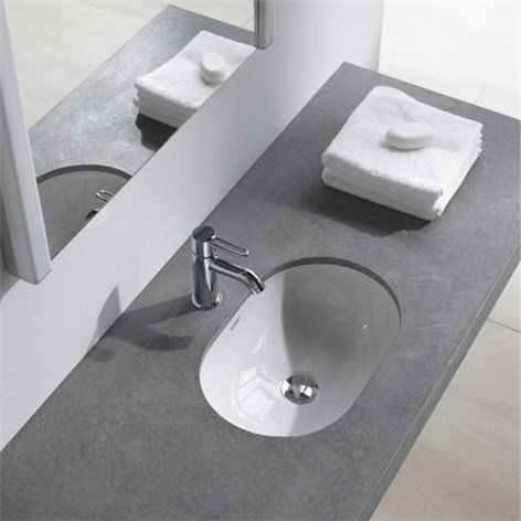 Tvättställ Duravit Foster  - Litet handfat - Tvättställ - Bygghemma.se