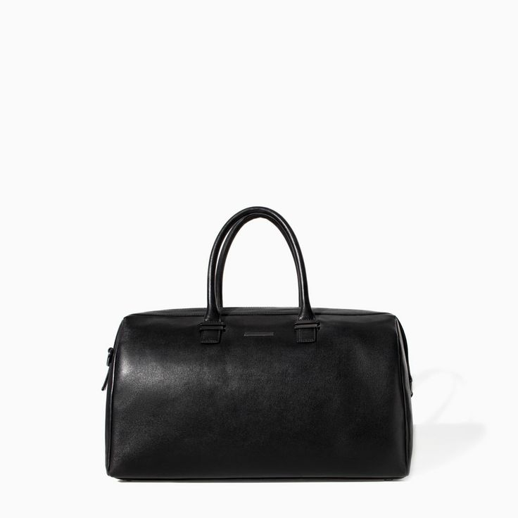 ZARA - MAN - CLASSIC BOWLING BAG, My new travel bag!