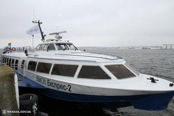 В Николаеве испытали «ракеты» - два судна готовят для пассажирских перевозок по Южному Бугу - Copyright https://news.pn