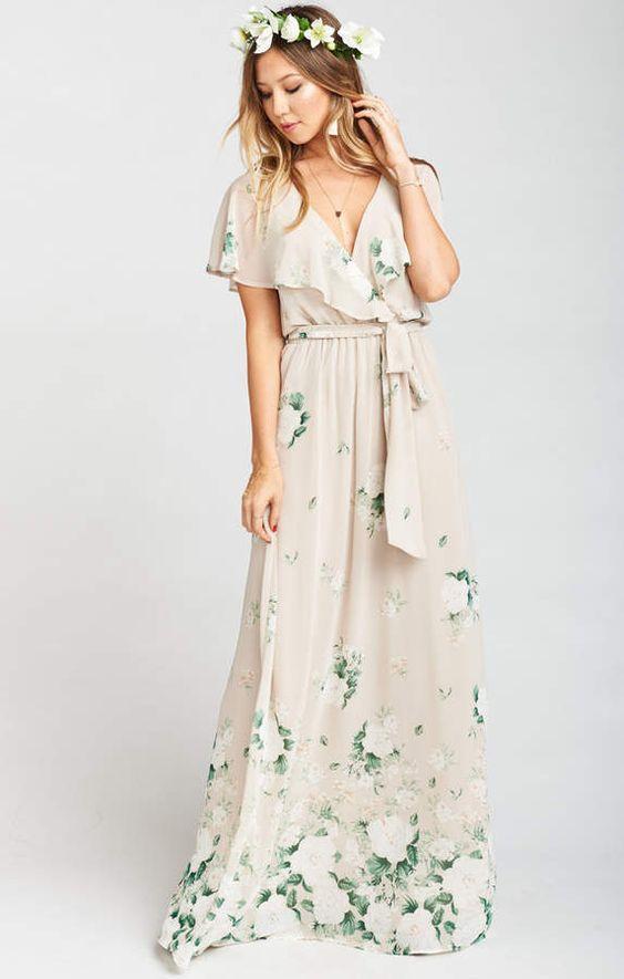 04db0b9b91ddba Show Me Your Mumu Audrey Maxi Dress ~ Bouquet Toss | wedding dress ...