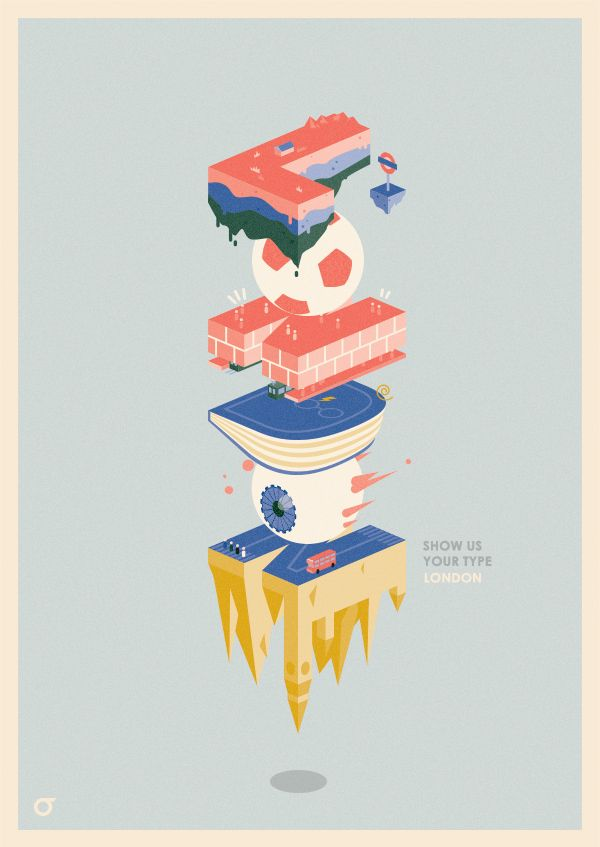 'Parallel London' poster on Behance
