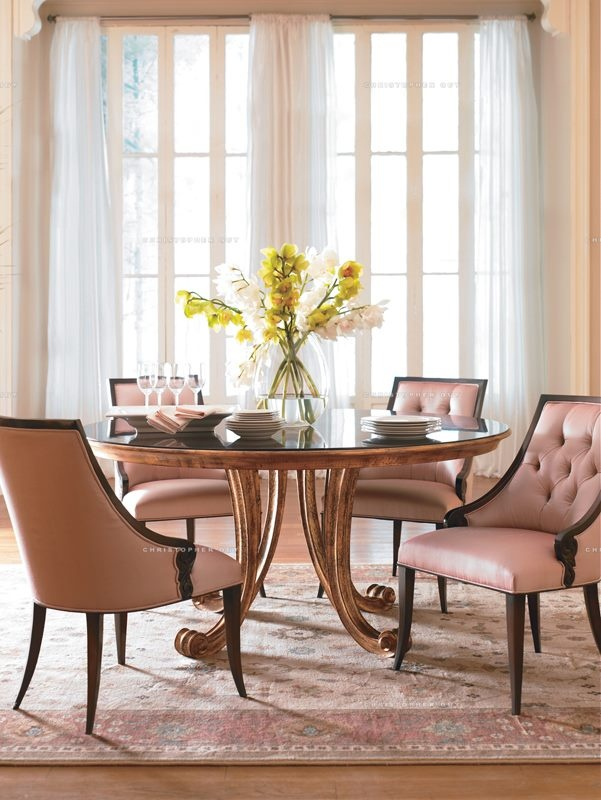 Christopher Guy-very delicate dining! Home decor