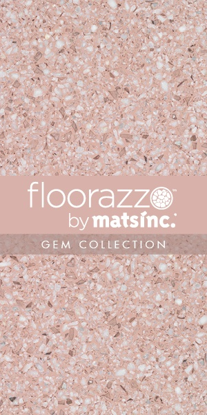 #Terrazzo #Tile #Flooring ? // #Floorazzo ™ #Gem Collection // Cotton Candy // Learn more & order samples here http://matsinc.com/commercial-flooring-products/contract-flooring/terrazzo-tile-flooring/floorazzo-gem.html