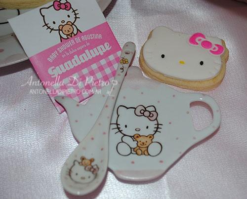 Tea Time En El Baby Shower De Hello Kitty