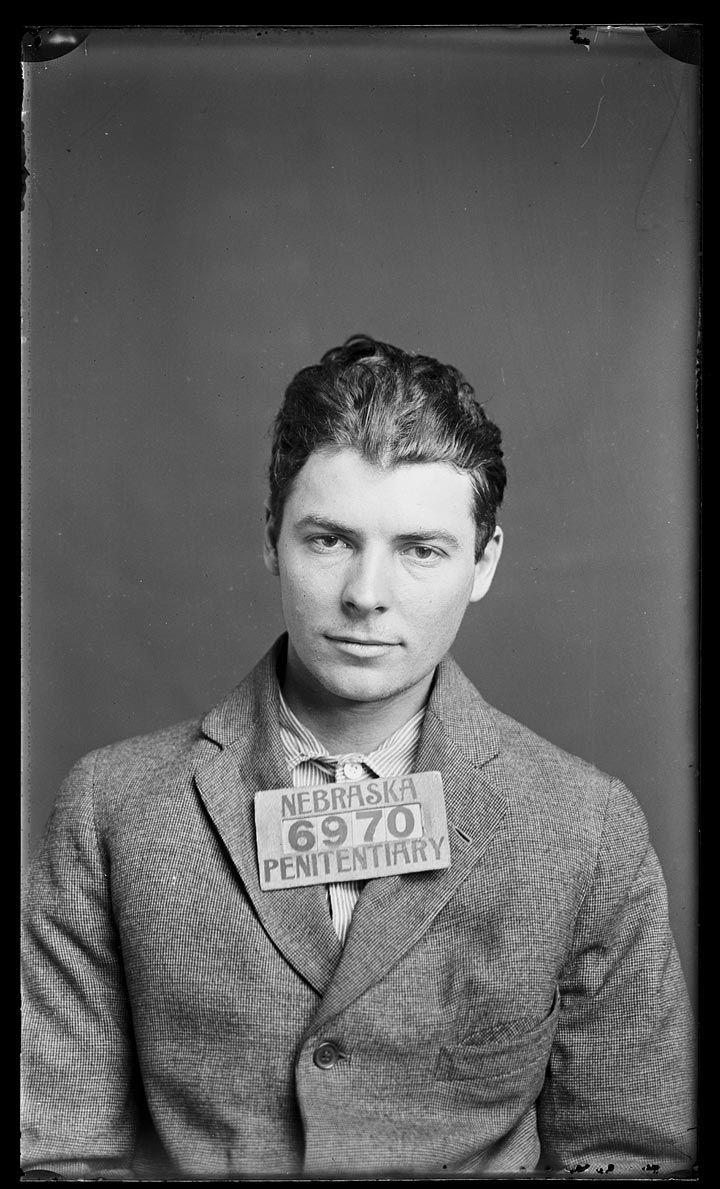 The vintage mugshots of shoplifters bank robbers and murderers from - Historic Nebraska Mug Shots Stephen Shock