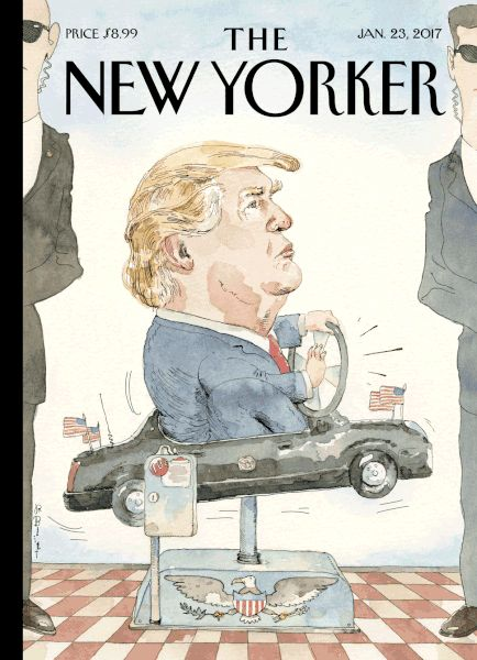 """newyorker: """"""""Every so often, you hear stories on the news about a toddler who somehow manages to start the family car and drive the vehicle across town, where the law finally apprehends him—and it's almost always a him—before too much damage has..."""