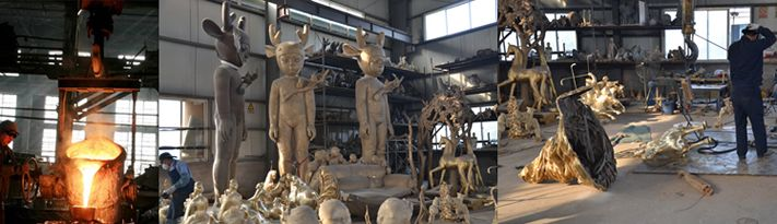China Casting Bronze Foundry Factory - Casting Bronze Foundry Manufacturer - Beijing Sino Sculpture Landscape Engineering Co.,Ltd