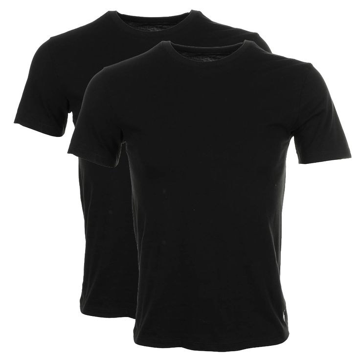 Ralph Lauren > Ralph Lauren Twin Pack Classic T Shirts Black > Exclusive Clothing from Mainline Menswear Ralph Lauren Jumpers Polos Jackets and Accessories for Autum Winter Plus All New Hogo Boss Ted Baker D & G and Many Many More!!!
