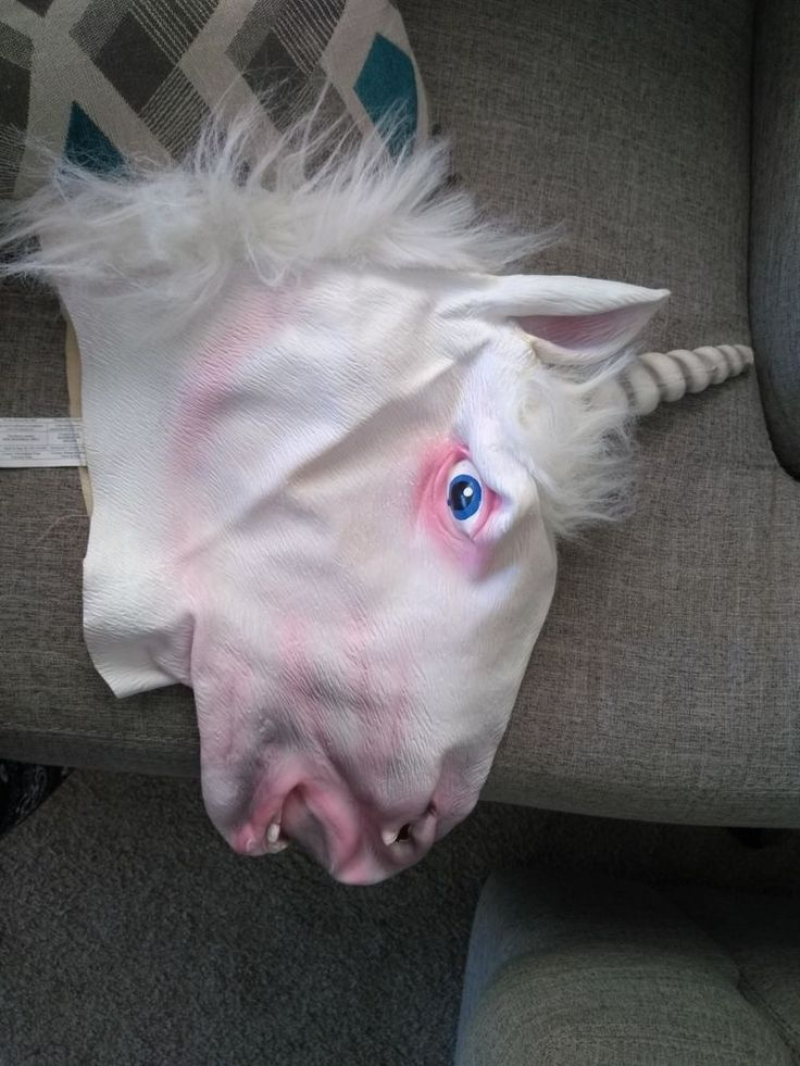 Unicorn 🦄 Head Mask from Spirit of Halloween Store | Clothing, Shoes & Accessories, Costumes, Reenactment, Theater, Accessories | eBay!