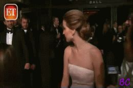 Jennifer Lawrence seeing her brothers after she won her Oscar. This is too adorable not to repin. GIF