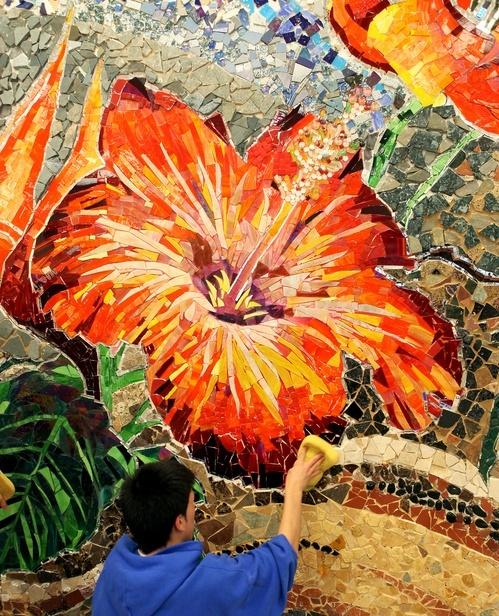 flowers art washes - photo #25