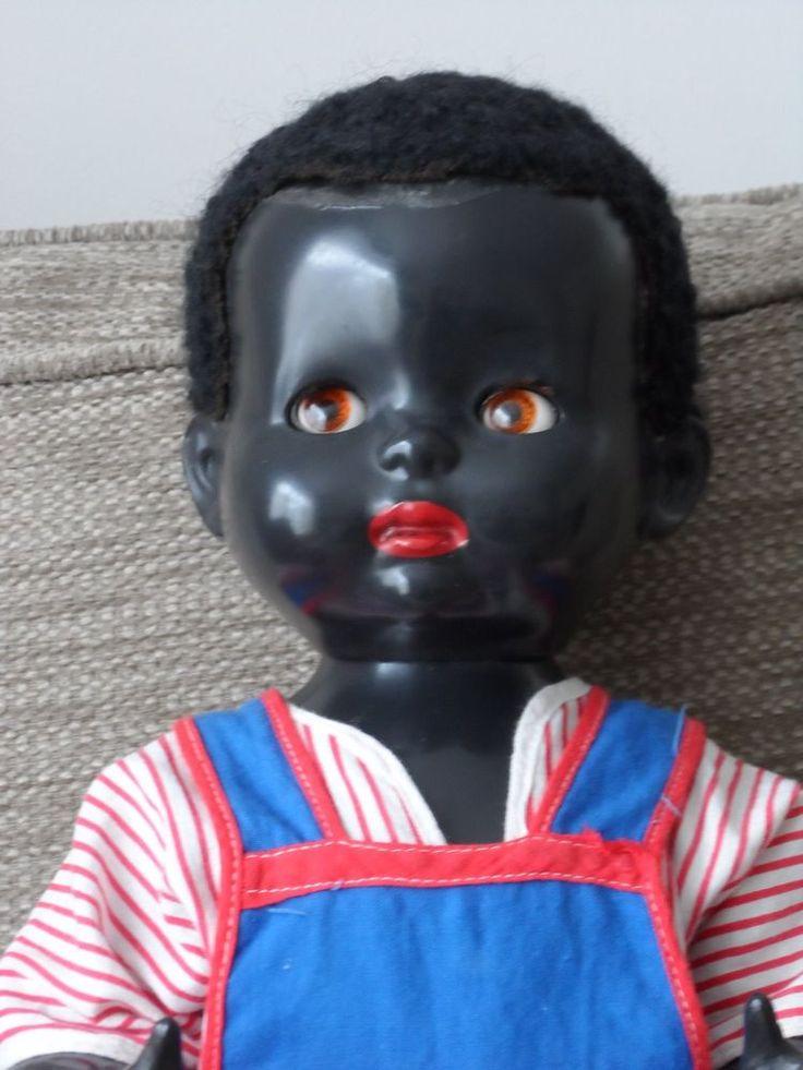 Black Hard Plastic Doll - Dixie - by Pedigree Circa 1950 s