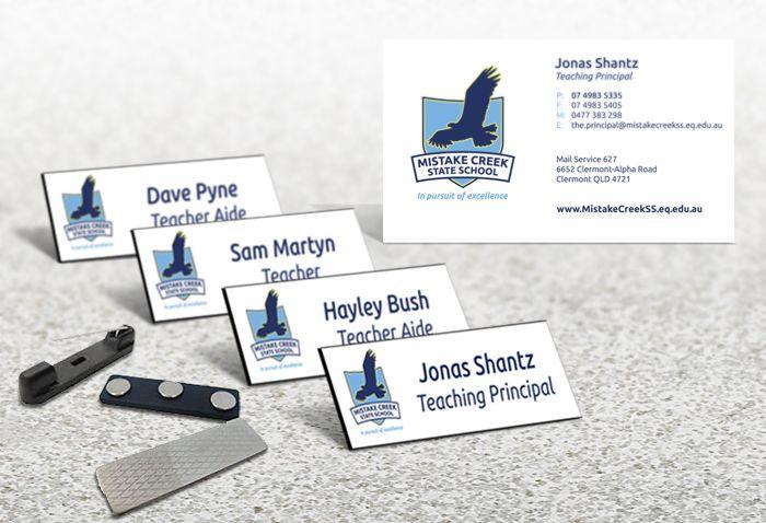 School Staff Name Badges