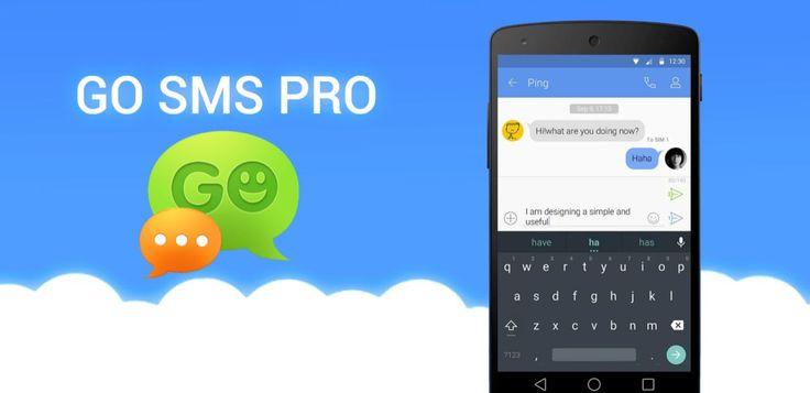 GO SMS Pro v6.39 premium build 312  Miércoles 6 de Enero 2016.  Por: Yomar Gonzalez   AndroidfastApk  GO SMS Pro v6.39 premium build 312  Requisitos: Varía según el dispositivo Descripción: GO SMS Pro 6 está llegando! El nuevo SMS se ha rediseñado de principio a fin con lo que un nuevo aspecto y experiencia móvil inteligente! Descripción GO SMS Pro - elección casi 100 millones de usuarios todos los tiempos aplicación # 1 de mensajería para sustituir a la acción! La nueva aplicación de…