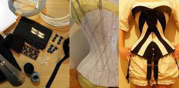 Foundations Revealed - Online resource membership site with patterns, drafting, tools and technics on fitting and creating corsetrey