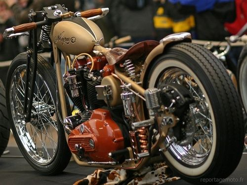 Bobber Inspiration | Ironhead custom bobber | Bobbers and Custom Motorcycles