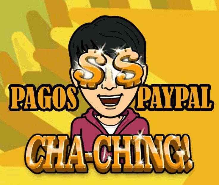 Comprobantes de pago PayPal: USD$ 600.16