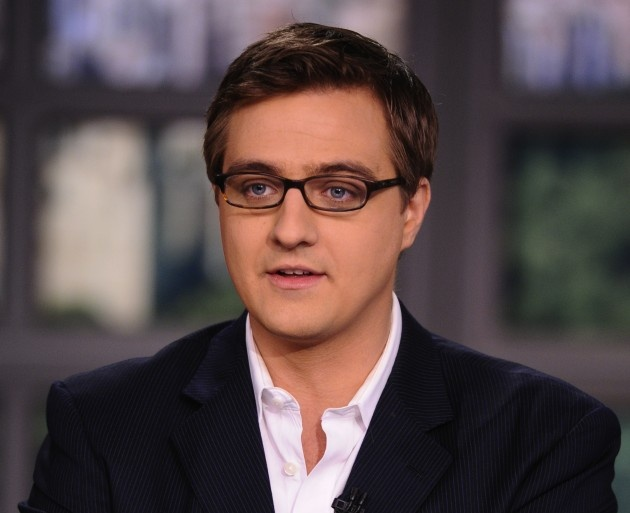 Chris Hayes Will Replace Ed Schultz Weekdays At 8 PM EST On MSNBC