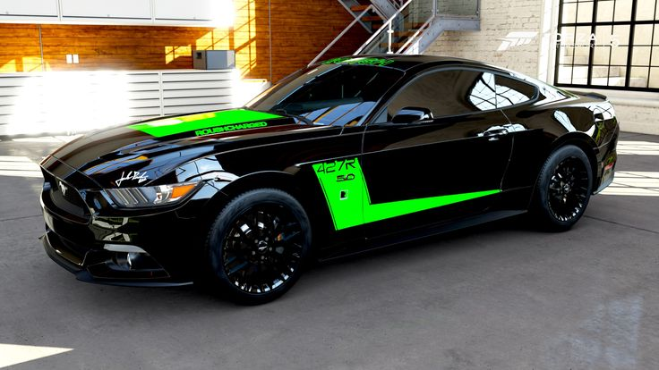 Super Modified Modern Mustangs Daily at: http://www.musclecardefinition.com/