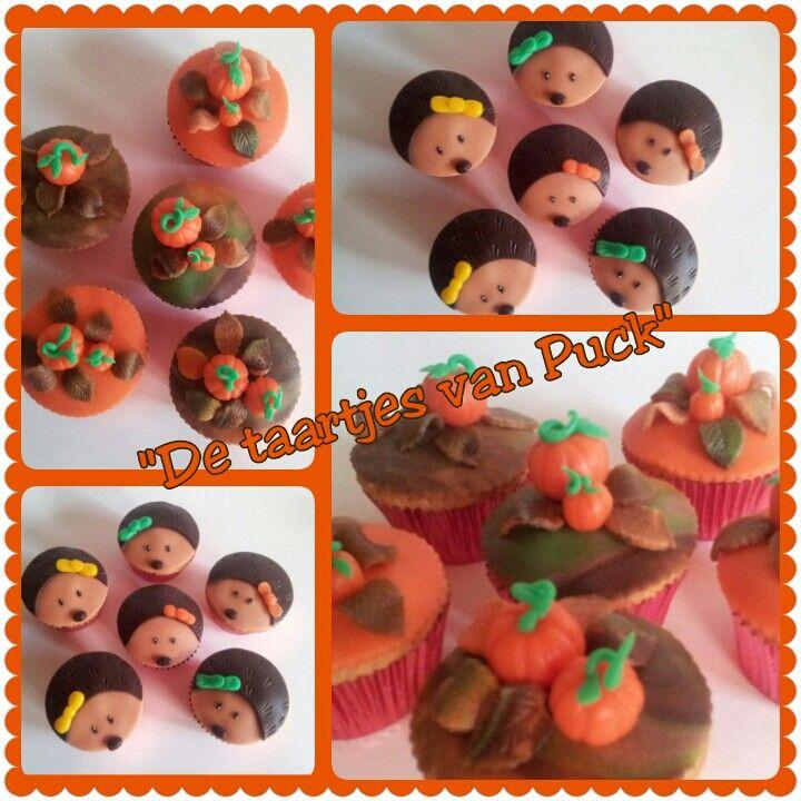 Autumn / Herfst cupcakes