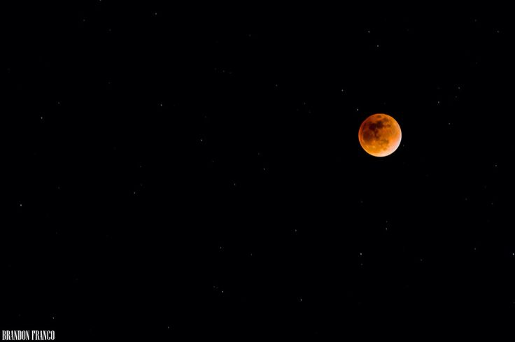Luna de sangre Bogotá Colombia