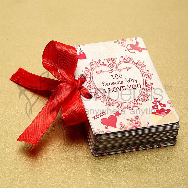 She has always been asking you why do you love her, isn't it? Well, this small booklet has 100 reasons why you do. This #Valentine, #gift her '100 Reasons Why I Love You' through Ferns N Petals.