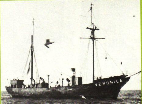 Het schip van Radio Veronica